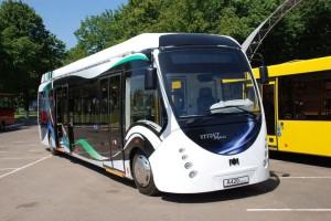 Гибридный автобус