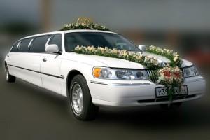 Лимузин для свадьбы