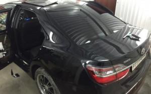 Бронирование автомобильных стекол защитной пленкой